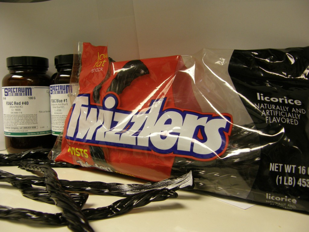 Twizzlers licorice twists