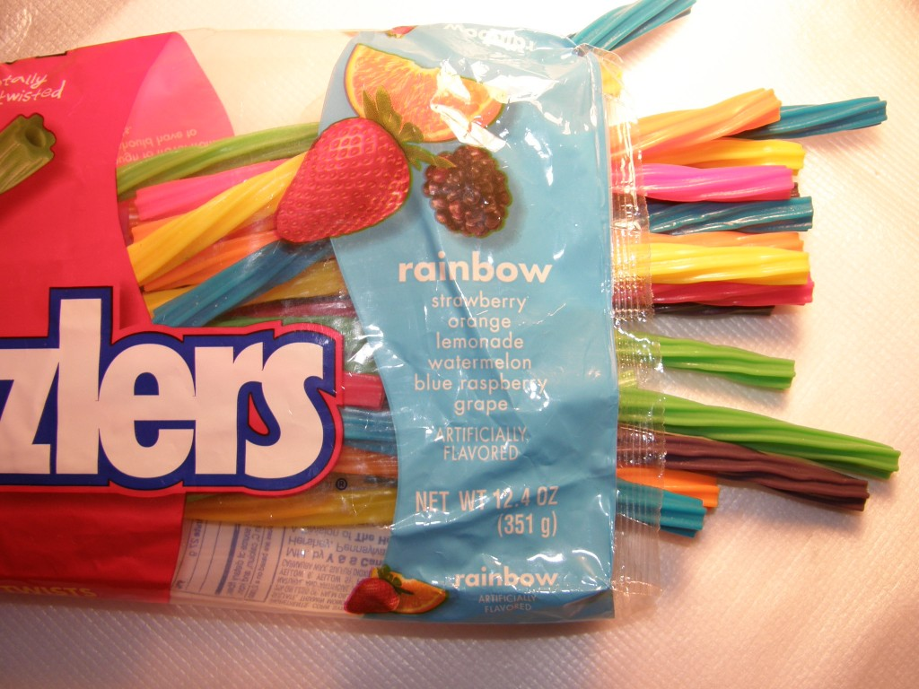 Twizzlers Rainbow twists of The Hershey Company