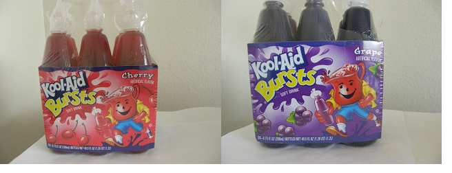 Kool-Aid Bursts of Kraft Foods