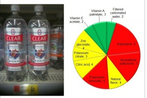 Clear American beverage:  A Natural Lie