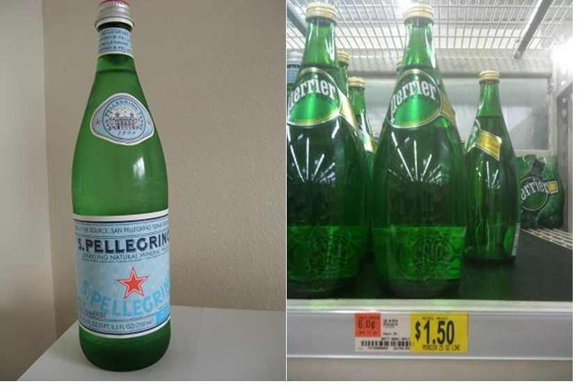 DyeDiet RECOMMENDED: Pellegrino and Perrier mineral water