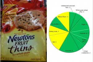 Newtons Fruit Thins: Edible cookies!