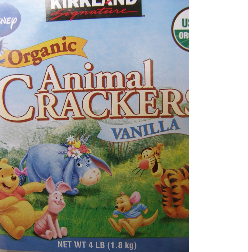 Kirkland Organic Animal Crackers