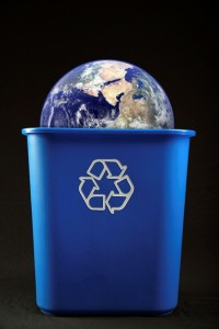 We need to recycle the planet