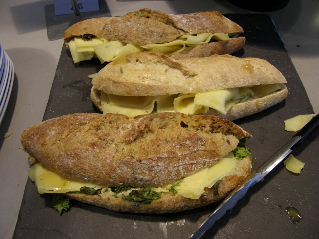 Cheese sandwiches of Bread! cafe