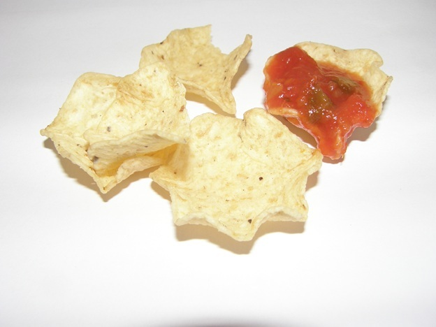 Scoop salsa well with Tostitos Scoops!