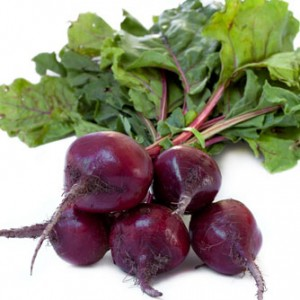 Beets contain purple glycosidic antioxidant