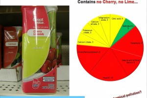 Great Value Cherry Chemical Mix: Why this is not a crime?