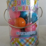 Artificially colored Jumbo Gumballs from China