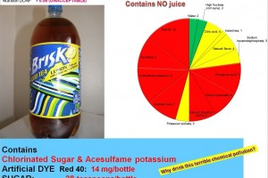 Brisk adds three more chemicals to reduce calories