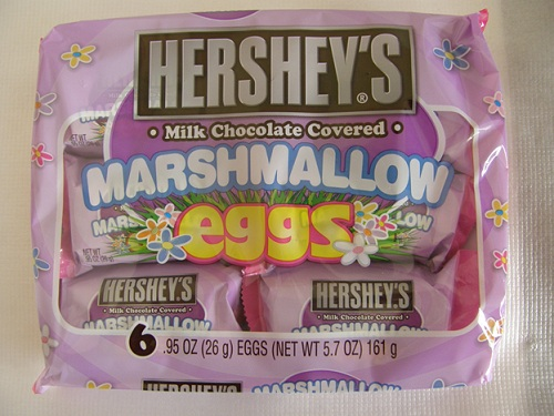 Chocolate covered marshmallow eggs from Canada