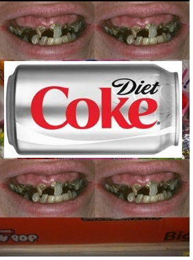 Diet soda erodes teeth as much as meth, crack_ Case study
