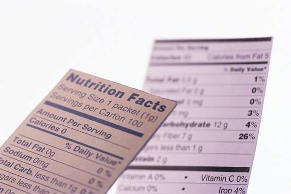 Google search to highlight nutrition info