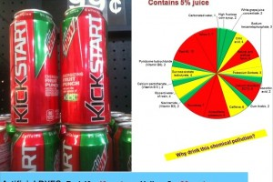 Mountain Dew Kickstart: Artificial dyes and other chemicals