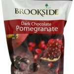 Healthy candy: Brookside Dark Chocolate Pomegranate