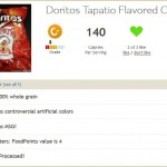 Fooducate result for Doritos